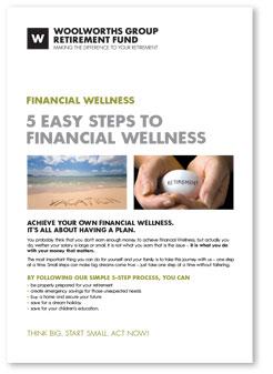 5 Easy steps to financial wellness